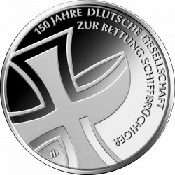 Germany 2015. 10 euro. DGzRS