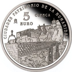 Spain 2015. 5 euro. Cuenca