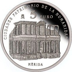 Spain 2015. 5 euro. Merida
