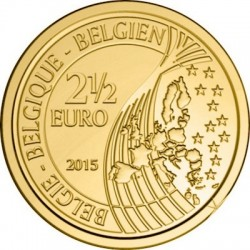 Belgium 2015. 2.5 euro. Waterloo