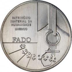 Portugal 2015. 2.5 euro. Fado. Cu-Ni