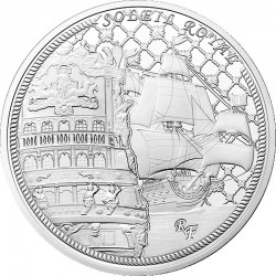 France 2015. 10 euro. Soleil Royal