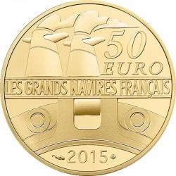 France 2015. 50 euro (Au 920). Gironde