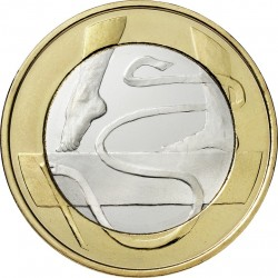 Finland 2015. 5 euro. Gymnastics