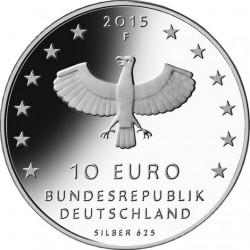 Germany 2015. 10 euro. Leipzig (Ag 625)