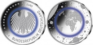 Germany 2016 5 euro Planet Erde