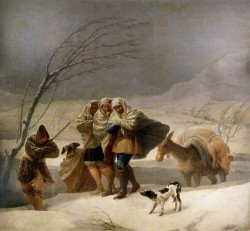 Goya Snowstorm