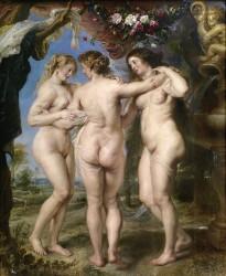 Rubens. Three Graces (1635)