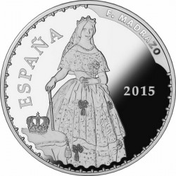 Spain 2015. 10 euro. Madrazo