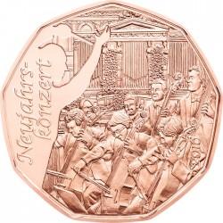 Austria 2016. 5 euro. Neujahrskonzert (Cu)