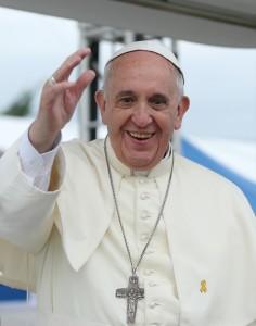 Папа римский Франциск (Южная Корея, 2014 г.)
