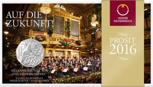 Austria 2016 5 euro Message with a melody