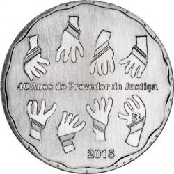 Portugal 2015 2.5 euro Ombudsman Cu-Ni