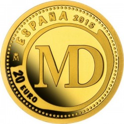 Spain 2015. 20 euro. Maravedis Phillip III