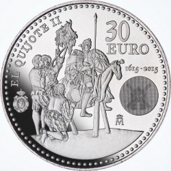 Spain 2015. 30 euro. Don Quijote