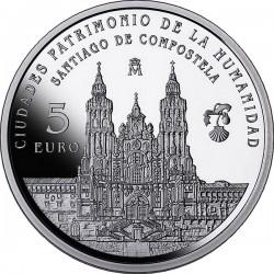 Spain 2015. 5 euro. Santiago