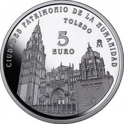 Spain 2015. 5 euro. Toledo