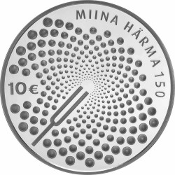 Eesti 2014. 10 euro. Miina Harma