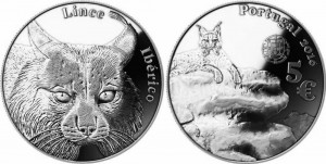 Portugal 2016 5 euro Lince Iberico