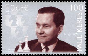 Estonia stamp Paul Keres