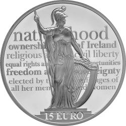 Ireland 2016. 15 euro. Proclamation of the Irish Republic