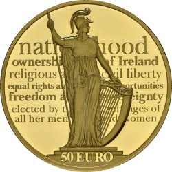 Ireland 2016. 50 euro. Proclamation of the Irish Republic