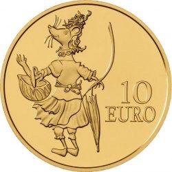 Luxemburg 2016. 10 euro. Maus Ketti