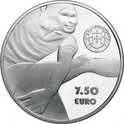 Portugal 2016. 7.5 euro. Eusebio (Ag 925)