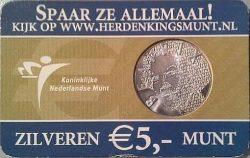 5 euro. Netherland 2004. Vincent van Gogh