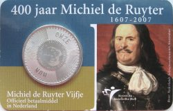 5 euro. Netherland 2007. Ruyter