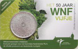 5 euro. Netherland 2011. WWF