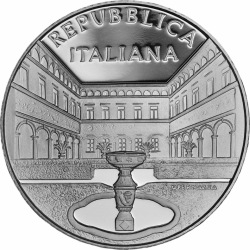 Italy 2016. 5 euro. Villa Cicogna Mozzoni