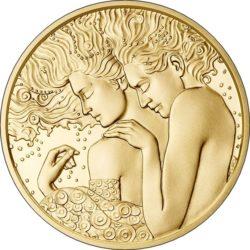 Австрия 2017. 50 евро «Зигмунд Фрейд»