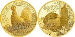 Austria 2015. 100 euro. Capercaillie