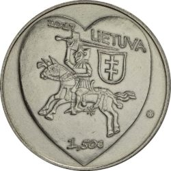 Lithuania 2017. 1.5 euro. Kaziukas