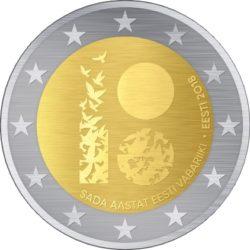 2 euro estonia 2018