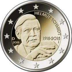 2 euro germany 2018 Schmidt