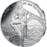France 2017. 10 euro. Jean-Paul Gaultier. Auvergne
