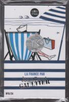 France 2017. 10 euro. Jean-Paul Gaultier. Normandie