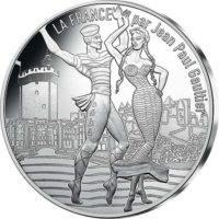 France 2017. 10 euro. Jean-Paul Gaultier. Roussillon