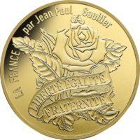 France 2017. 200 euro. Jean-Paul Gaultier. rev