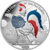 France 2017. 50 euro. Jean-Paul Gaultier. rev