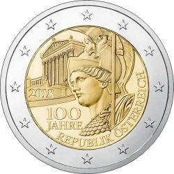 2 euro austria 2018