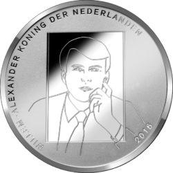 Netherland 2016. 5 euro. Bosch