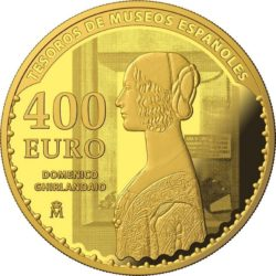 Spain 2017. 400 euro. Tesoros Museos Españoles