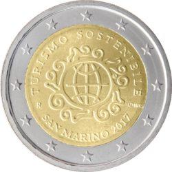 2 euro San Marino 2017 turism