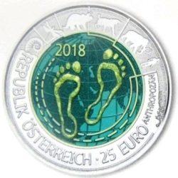 Austria 2018 25 euro Niob
