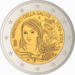 2 euro Italy 2018 minzdrav
