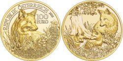 Austria 2016 100 euro Fox
