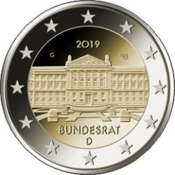 2 euro Germany 2019 Bundesrat